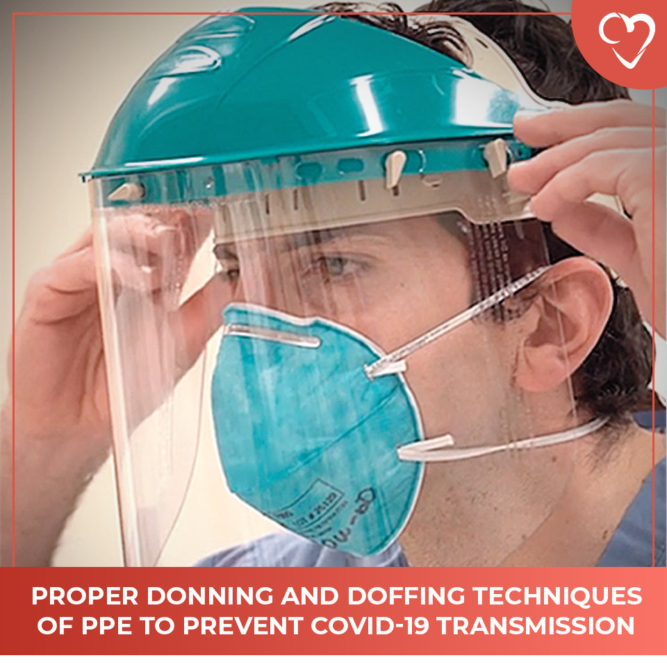 Proper Donning and Doffing Techniques of PPE to Prevent COVID-19 Transmission